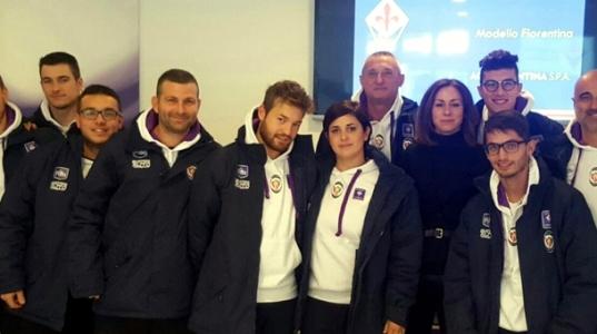Il nostro staff al corso di formazione Acf Fiorentina